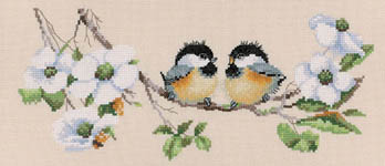 Click for more details of Blossom Buddies (cross-stitch kit) by Valerie Pfeiffer