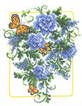 Click for more details of Blue Fanfare (cross-stitch) by Imaginating