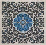 Click for more details of Blue Morpho (cross-stitch pattern) by Ink Circles