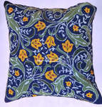 Click for more details of Blue William Morris (tapestry kit) by Glorafilia