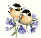 Click for more details of Bluebell Chick-Chat (cross-stitch kit) by Valerie Pfeiffer