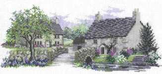 Click for more details of Bluebell Lane (cross-stitch) by Rose Swalwell