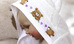 Click for more details of Bonny Baby (cross-stitch pattern) by Rico Design