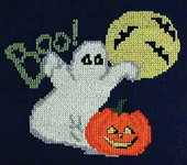 Click for more details of Boo! (cross-stitch pattern) by Cindy Valentine
