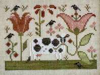 Click for more details of Bovinia (cross stitch) by Plum Street Samplers
