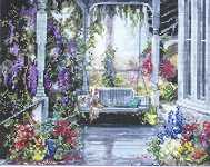 Click for more details of Brenda's Porch (cross stitch) by Pegasus