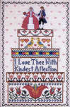 Click for more details of Bride's Boxes (cross stitch) by The Needle's Notion