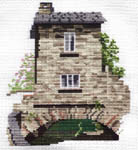 Click for more details of Bridge House (cross-stitch) by Rose Swalwell