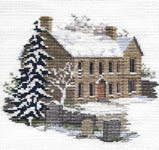 Click for more details of Bronte Parsonage (cross-stitch kit) by Rose Swalwell