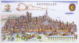 Click for more details of Brussels (cross stitch) by Eva Rosenstand