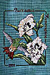 Click for more details of Buff-bellied Hummingbird (cross-stitch pattern) by Crossed Wing Collection