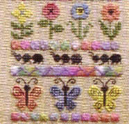 Click for more details of Bug Collector Sampler (cross-stitch pattern) by Jeannette Douglas