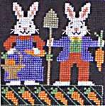 Click for more details of Bunnies (cross stitch) by The Prairie Schooler