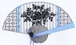 Click for more details of Burano (blackwork) by Classic Embroidery