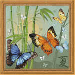 Click for more details of Butterflies (cross-stitch kit) by Riolis