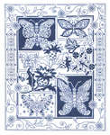 Click for more details of Butterfly Bliss (blackwork pattern) by Imaginating