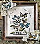 Click for more details of Butterfly Cloche (cross stitch) by Hello from Liz Mathews