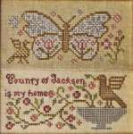 Click for more details of Butterfly Garden (cross stitch) by Blackbird Designs