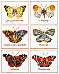 Click for more details of Butterfly Sampler (cross-stitch kit) by Thea Gouverneur