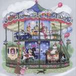 Click for more details of Carousel (cross-stitch kit) by Riolis