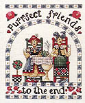 Click for more details of Cat Cafe (cross stitch) by Alma Lynne