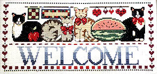 Click for more details of Cat Country (cross-stitch) by Jeremiah Junction