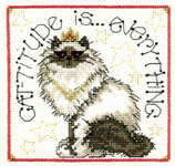 Click for more details of Cat Duo (cross-stitch pattern) by Imaginating