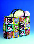 Click for more details of Cat Tote Bag (tapestry) by Design Works