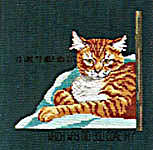 Click for more details of Cattitudes - The Eighth Litter (cross stitch) by Jeanette Crews