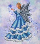 Click for more details of Celine The Winter Fairy (cross stitch) by Cross Stitching Art