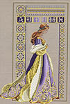 Click for more details of Celtic Autumn (cross stitch) by Lavender & Lace