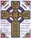 Click for more details of Celtic Cross (cross-stitch kit) by Design Works
