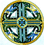Click for more details of Celtic Emerald Cross (cross-stitch) by Mike Vickery