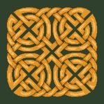 Click for more details of Celtic Knot Cushion (cross stitch) by Anne Peden