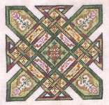 Click for more details of Celtic Quilts : Kentucky Chain (cross stitch) by Ink Circles