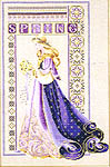 Click for more details of Celtic Spring (cross stitch) by Lavender & Lace