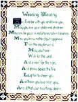 Click for more details of Celtic Wedding Blessing (cross-stitch) by Enchanting Lair