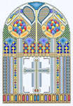 Click for more details of Celtic Window (cross stitch) by Mike Vickery
