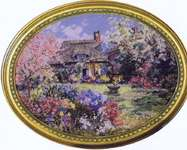 Click for more details of Chaplain's Garden (cross-stitch pattern) by Pegasus