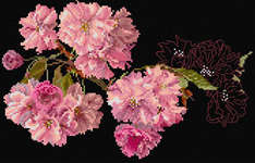 Click for more details of Cherry Blossom (cross-stitch kit) by Thea Gouverneur