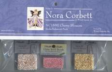 Click for more details of Cherry Blossom Embellishment Pack (beads and sequins) by Nora Corbett