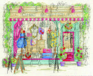 Click for more details of Chic Boutique (cross-stitch) by DMC Creative