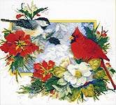 Click for more details of Chickadee Christmas (cross stitch) by Kustom Krafts