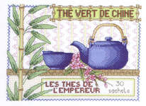 Click for more details of Chinese Green Tea (cross-stitch kit) by Royal Paris