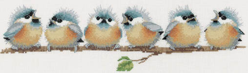 Click for more details of Chorus Line (cross-stitch kit) by Valerie Pfeiffer