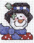 Click for more details of Christmas Accents (cross-stitch pattern) by Alma Lynne