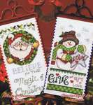 Click for more details of Christmas Banners I (cross-stitch pattern) by Stoney Creek