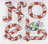 Click for more details of Christmas Candy (cross-stitch pattern) by Sue Hillis Designs