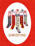Christmas Card - Christmas Stockings