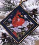 Click for more details of Christmas Cardinal  (cross-stitch pattern) by Stoney Creek